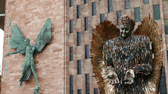 Knife Angel. March '19. Coventry. UK. P2340616 (Imagine Bill) Tags: coventry coventrywestmidlands westmidlands knifeangel uk warwickshire alfiebradley edruane
