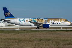 Nile Air / A320 / SU-BQM / LFRS 21 (_Wouter Cooremans) Tags: lfrs nte spotting spotter avgeek aviatrion aviation airplanespotting nile air a320 subqm 21 nileair