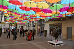 "Color Life (Eddie C3) Tags: levillageroyal umbrellasky parisfrance patriciacunha publicart publicspaces ""colorlife"""