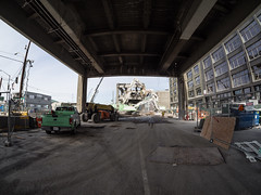 Demolition view from Yesler Way (WSDOT) Tags: seattle gp construction wsdot alaskan way viaduct replacement demolition 2019
