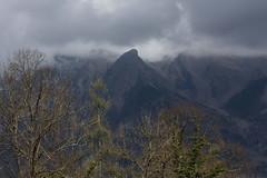 Segnali (lincerosso) Tags: paesaggio mountainscape cielo sky nuovole clouds alberi trees primavera spring bellezza armonia segnali