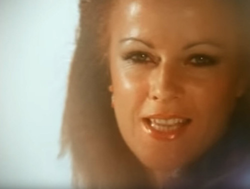 "Anni-Frid Lyngstad of ABBA, ""Take a Chance on Me"" Music Video"