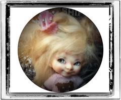 Little Flirt! (Jonquil O) Tags: realpuki pupu fairyland bjd tiny fairy jozee