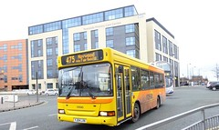 Bury (Andrew Stopford) Tags: yj04lxn transbus mpd transdev rosso bury yorkshirecoastliner littleexplorers keighleydistrict yorkcountry lancashireunited