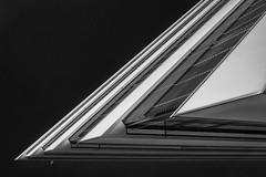 Abstrakte Architektur (Beutler Daniel) Tags: silverefex nikcollection fujinonxf27mm fujixe1 minimalistisch blackandwhite blackwhite schwarzweiss sw bw abstract abstrakt architecture architektur switzerland svizzera suisse schweiz