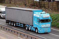 Jan 03 2019 m4 WH57CJZ (jon L1049H) Tags: trucks daf m4 sjtransport wh57cjz
