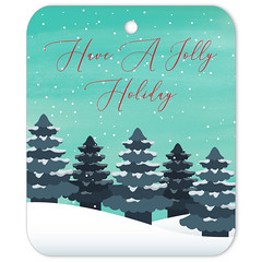 Jolly Holiday Gift Tag (Gift Elements) Tags: gifttags christmas newyear winter winterholiday holiday holidayseason snow firtrees christmastree customise giftelements