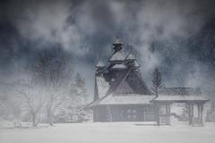 Summer into Winter (Repp1) Tags: architecture canada people russian saskatchewan church église wooden enbois summertowinter étéàhiver