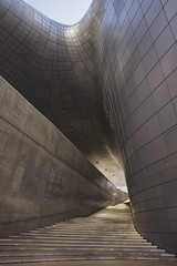 Dongdaemun Design Plaza (DDP). Seoul. South Korea (RikkiBoom) Tags: architecture art seoul asia aasia korea travel trip building wall futurism metal city texture