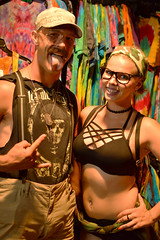 Ready to rock (radargeek) Tags: night okc oklahomacity pride okcpride couple mustache glasses portrait 2018 june tiedye