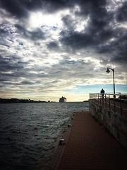 Puntos de vista  #menorca #ship #mahon #escastell #port #puerto (ogomogo) Tags: menorca ship mahon escastell port puerto