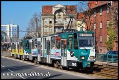 160-2009-04-02-Alt Nowawes (steffenhege) Tags: potsdam vip strasenbahn streetcar tram tramway tatra ckd kt4d kt4dm 160