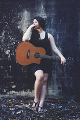 Jasmin - CD Artwork Series (Rob Harris Photography) Tags: artistic attractive artist musician performance performer guitarist singer songwriter beautiful beauty creative contrast colour curves curvy country dramatic female fashion feminine girl gorgeous woman portrait guitar instrument