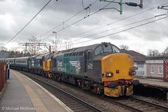 Direct Rail Services 37218 (Mike McNiven) Tags: direct railservices drs pathfinder tours blueboyslocofest loco locomotive diesel tractor cheadlehulme stockport manchester chaddesden sidings newport derby blackburn