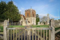 Gateway (NVOXVII) Tags: church boldre newforest hampshire canon gatecomposition winter february walking exploringarchitecture history