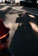 Nosey (ewitsoe) Tags: 35mm cityscape d80 nikon street warsw warszawa winter erikwitsoe erikwitsoecom poland urban profile woman face shadows light sun afternoon lady
