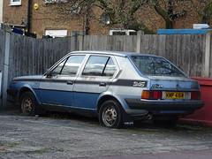 1981 Volvo 345 1.4 GL Auto (Neil's classics) Tags: vehicle 1981 volvo 345 14gl auto abandoned car