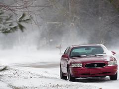 Still Winter (joeldinda) Tags: street tree car automobile auto wind snow michigan village mulliken potter em1ii february 4454 em1 omd weather olympus omdem1mkii home winter 2019 39365