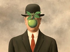 Magritte's Fifth Season (fabola) Tags: art creativity fabrice magritte modern museum paint phyllis sanfrancisco sfmoma