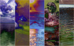 Dream (soniaadammurray - On & Off) Tags: digitalphotography manipulated experimental collage picmonkey photoshop abstract dream nature beauty look sky sea water land birds clouds ripples sun fly freedom bokeh shadows reflections exterior colours hss sliderssunday