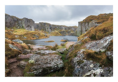 Foggintor Quarry (Rich Walker Photography) Tags: foggintor quarry dartmoor devon landscape landscapes landscapephotography landmark industrial industry historic sky rock grey canon england efs1585mmisusm eos eos80d