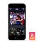 スポーツエンターテイメントアプリの写真