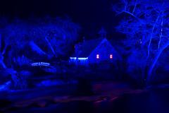 2018 Décembre - Pont Aven.009 (hubert_lan562) Tags: moulin pont aven rivière nuit bleu noël soir night lumière light 29 finistere bretagne