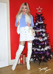 Snow Blonde ❄️ (jessicajane9) Tags: tg crossdresser tgurl feminization transvestite cd tranny xdress trans feminised transgender boots tgirl crossdressing m2f tv