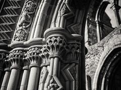 20190224-0024-Edit (www.cjo.info) Tags: bw europe europeanunion historicscotland jedburgh jedburghabbey m43 m43mount microfourthirds nikcollection olympus olympusmzuikodigital25mmf18 olympuspenf scotland scottishborders silverefexpro silverefexpro2 unitedkingdom westerneurope abbey architecture blackwhite blackandwhite blur bokeh carving digital focusblur gothic monochrome religion religiousbuilding ruins shallowdepthoffield stone stonework