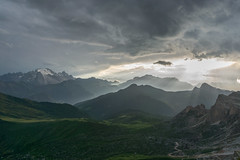 Mountains of Italy (Dancing.With.Wolves) Tags: italy summer 2016 2018 2019 travel mountains landscape rays sunny cloudy refugio tourist camera sony a6000