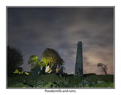 Powdermills09 (mdsphotoimages1) Tags: stars sky clouds color stacks ruins