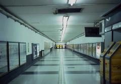 Subterráneo Línea C (avilafederico) Tags: olympus 35 sp kodak pro image 100 epson v330