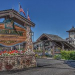 Lake Placid - New York -  Golden Arrow Lakeside Resort -  Downtown historic District thumbnail