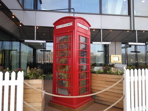 sea containers phone box