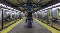 Pelham Bay Park Station Bronx New York (The way Mike sees it) Tags: train station nyc transit subway platform perspective urban city bronx