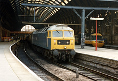 47114 Kings Cross, late 1980s. (Mr Corbett's stuff) Tags: 47114 kings cross class 47