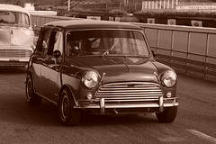 Austin Mini Cooper S 1964, HRDC Track Day, Goodwood Breakfast Club (1) (f1jherbert) Tags: sonya68 sonyalpha68 alpha68 sony alpha 68 a68 sonyilca68 sony68 sonyilca ilca68 ilca sonyslt68 sonyslt slt68 slt sonyalpha68ilca sonyilcaa68 goodwoodwestsussex goodwoodmotorcircuit westsussex goodwoodwestsussexengland hrdctrackdaygoodwoodmotorcircuit historicalracingdriversclubtrackdaygoodwoodmotorcircuit historicalracingdriversclubgoodwood historicalracingdriversclub hrdctrackday hrdcgoodwood hrdcgoodwoodmotorcircuit hrdc historical racing drivers club goodwood motor circuit west sussex brown white sepia bw brownandwhite