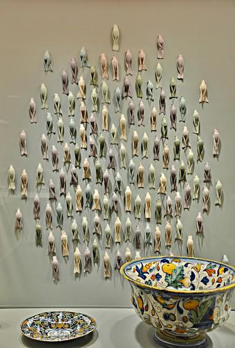 Virgo, Zodiac by David R. Harper, New+Now, Gardiner Ceramic Museum, Toronto, ON