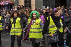 8M - Día Internacional de la Mujer (Bilbao) (samarrakaton) Tags: 2019 8m mujer woman samarrakaton nikon d750 70200 bilbao bilbo bizkaia manifestacion protesta reivindicacion diainternacionalmujer