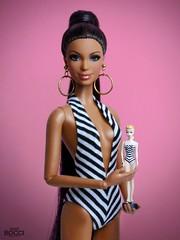 60th Anniversary Barbie (davidbocci.es/refugiorosa) Tags: 60th anniversary barbie mattel fashion doll muñeca refugio rosa david bocci ooak