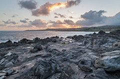 Heavenly I (Austin Westervelt) Tags: hawaii maui landscape seascape shore coast coastline rocks rocky water ocean sea waves island sky clouds sunrise beautiful paradise