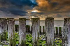 Dreaming by the sea (Betrachtungsweisen) Tags: holland zeeland ef1740mmf4lusm wolken landscape landschaft sky meer northsea nordzee nordsee canon netherlands eos6d sea niederlande nl himmel
