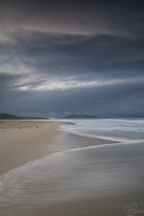 Playing with waves (mvj photography) Tags: scotland ecosse isleofharris outerhebrides sea seascape seashore luskentyre beach slowwater water waves landscape longexposure breathtakinglandscapes