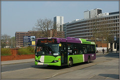 Ipswich Buses 72 (Jason 87030) Tags: ipswich town scania bus 72 omnicity buses 2019 april wheels 13 tesco luck unlucky bad pinewood chantry offices sunny weather sony ilce alpha green pruple livery fleet