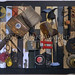''Black Moon the Bullet and the Skull'' by David K, mixed media found object, $133.00