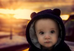 Spontaneous at Sunset (miss.interpretations) Tags: sunset portrait colorado winter changes transparent portraiture innocence childhood gold sky clouds truck canon6dmarkii