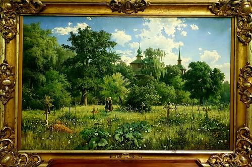 Village Cemetary : Mikhail Tcackchenko 1887
