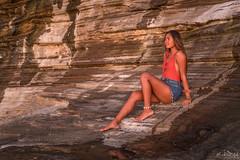 Lovely Leah DSC_1693 (BlueberryAsh) Tags: chinawallsunset hawaii oahu