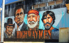 Highwaymen mural - Nashville, Tennessee (J.L. Ramsaur Photography) Tags: tennesseehdr hdr worldhdr hdraddicted bracketed photomatix hdrphotomatix hdrvillage hdrworlds hdrimaging hdrrighthererightnow sign signage it'sasign signssigns iseeasign signcity jlrphotography nikond7200 nikon d7200 photography photo nashvilletn middletennessee davidsoncounty tennessee 2018 engineerswithcameras musiccity photographyforgod thesouth southernphotography screamofthephotographer ibeauty jlramsaurphotography photograph pic nashville downtownnashville capitaloftennessee countrymusiccapital tennesseephotographer mural highwaymenmural tm tmcrew highwaymen thehighwaymen waylonjennings johnnycash willienelson kriskristofferson countrymusicicons monument art painting artistic countrymusic outlawcountry countrymusicpioneers portrait portraiture