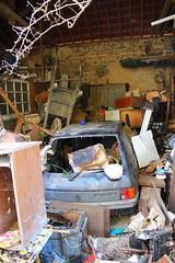 Peugeot 205 (Raphael Drake) Tags: epave voiture wreck abandonne abandoned urbex rurex decay decayed car peugeot 205